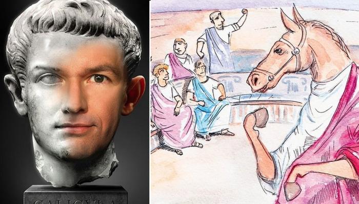 Гай Юлий Цезарь Август Германик и его Инцитат.