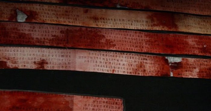 Надписи на этрусском языке.